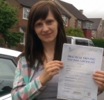 Nadia (Blossom Ave Harlington) passed with Learn with Michael