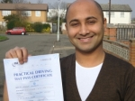 Nishant passed with Learn with Michael
