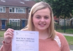 Patricia (Cranford Drive, Hayes) passed with Learn with Michael
