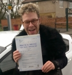 Sean (Hayes) passed with Learn with Michael