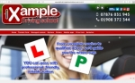 Screenshot of design 1 passed with Xample Driving School