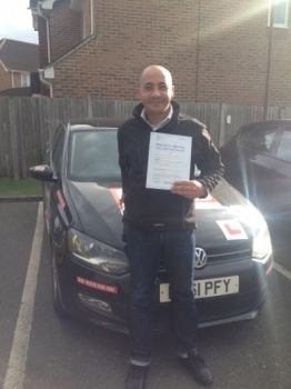 Well done Mohamed passed 1st attempt