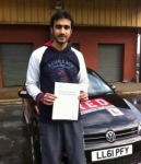 Hamed passed with Mpi Driving School