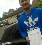 Johone passed with Mpi Driving School
