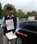 Mr khan  passed with Mpi Driving School