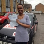 juliya  passed with Mpi Driving School