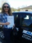 Tanaya passed with Mpi Driving School