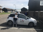 Jody Davy passed with Mr L Driving School