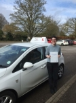 Rhiannon Barton passed with Mr L Driving School