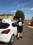 Zak Young passed with Mr L Driving School