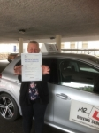 Dawn Tudor passed with Mr L Driving School