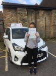 Lucy Simpson passed with Mr L Driving School