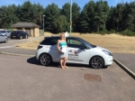 Lucy Girod passed with Mr L Driving School