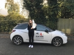 Gabriella Voyias passed with Mr L Driving School