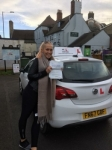 Nora passed with Mr L Driving School