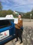 Hannah Kanharn passed with Mr L Driving School