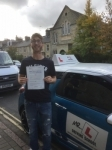 Korey Morris passed with Mr L Driving School