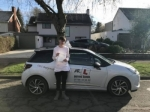 Adam Hill passed with Mr L Driving School