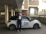 Charley Kimber passed with Mr L Driving School