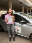 Chloe Moulding passed with Mr L Driving School