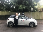 Nicola Compton passed with Mr L Driving School