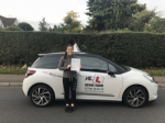 Katie Gearing passed with Mr L Driving School