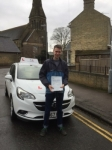 Bill Duffy passed with Mr L Driving School