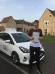 Ziggy Paulikas passed with Mr L Driving School