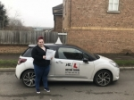 Lauren Aubury passed with Mr L Driving School