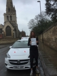 Dr. Helen Taylor passed with Mr L Driving School