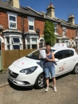 Lynsey Stephenson passed with Mr L Driving School