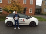 Ben Hallewell passed with Mr L Driving School