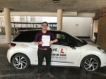 Guy passed with Mr L Driving School