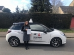 Virginia Vasconez passed with Mr L Driving School