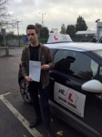 Charles Nice passed with Mr L Driving School