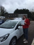 Malanie Arbon-West passed with Mr L Driving School
