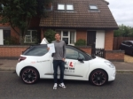 Damien Barker passed with Mr L Driving School