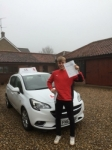 Ed Hughes passed with Mr L Driving School