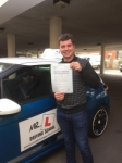 Josh Howells passed with Mr L Driving School