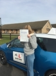 Shannon Mitchell passed with Mr L Driving School
