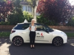Fran Hazel passed with Mr L Driving School
