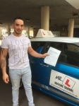 Alex Salajan passed with Mr L Driving School