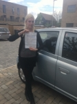 Abbie Jasmine-Young passed with Mr L Driving School