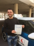 Ekrum Babur passed with Mr L Driving School