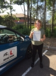 Jasmine Russell passed with Mr L Driving School