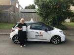 Susan Rees passed with Mr L Driving School