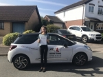 Hannah Sharplin passed with Mr L Driving School