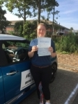 Claire Mead passed with Mr L Driving School