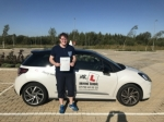 Christopher Williams passed with Mr L Driving School