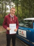 Callum Fordham passed with Mr L Driving School